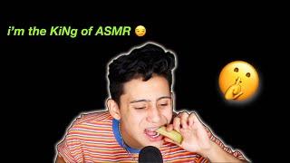 i became a professional ASMR-er for this video