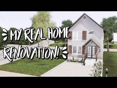 THE SIMS 3 HOUSE BUILDING   My Real Home Renovation