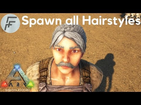 How to Spawn all Hair styles - ARK: Survival Evolved