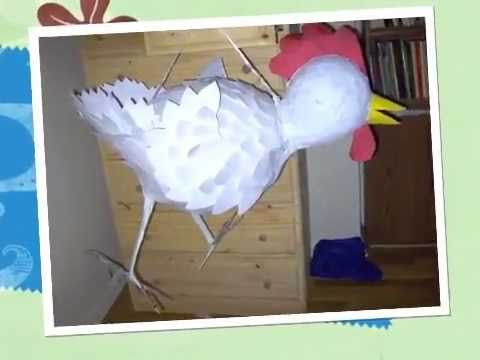 Making A GIANT Chicken Pinata ! ! !