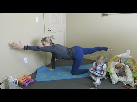 Postnatal Workout #1: Core for Diastasis Recti in 12 minutes