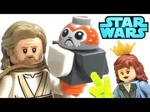 LEGO Star Wars Ahch-To Island Training 75200 Review