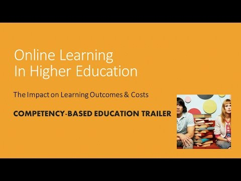 Online Learning: Competency-based Education Trailer