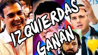 PSOE GANA LAS ELECCIONES ... ¡¡¡LA DERECHA PIERDE EN ESPAÑA!!! ANÁLISIS DE LA VICTORIA DE SÁNCHEZ