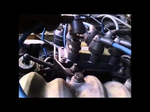Ford Ranger 1995 3 0L V6; checking Spark plugs wires for misfire