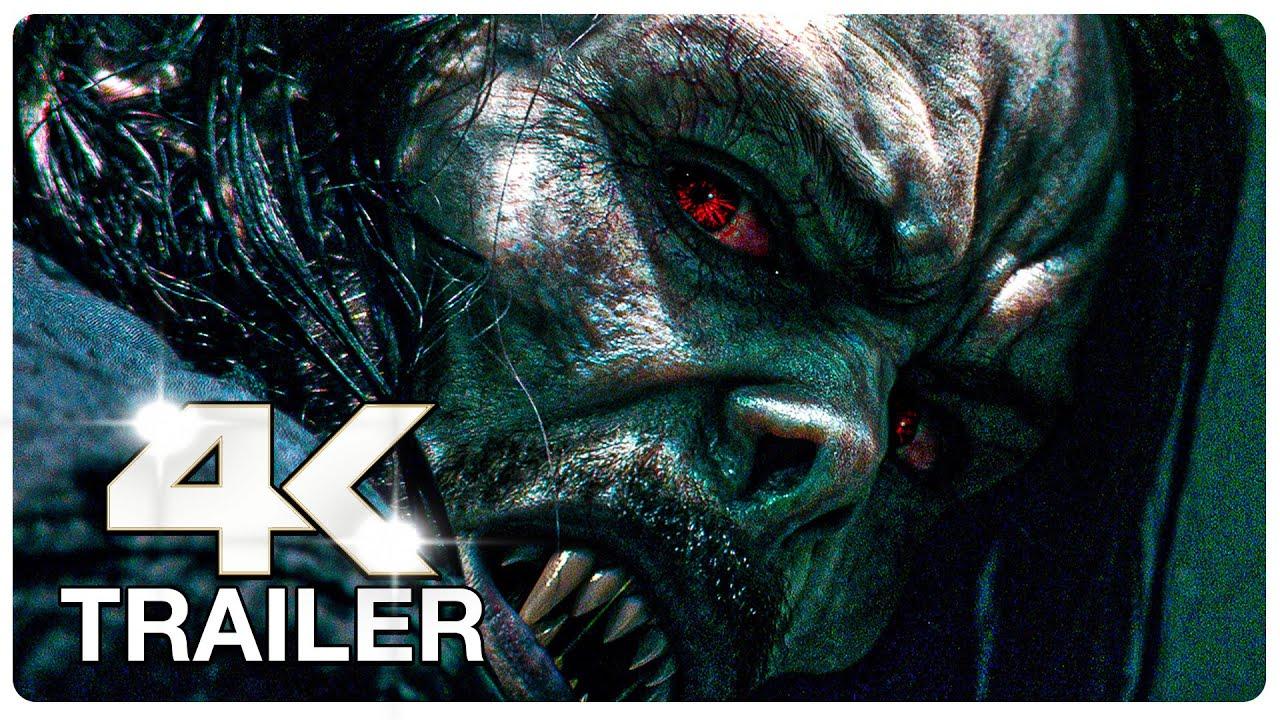 MORBIUS Trailer (4K ULTRA HD) NEW 2022
