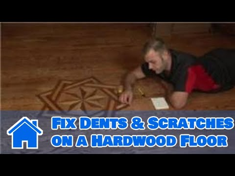 Flooring Tips : How to Fix Dents & Scratches on a Hardwood Floor