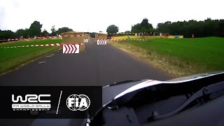 WRC - ADAC Rallye Deutschland 2016: ONBOARD Lefebvre SS8 Panzerplatte