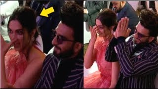 Deepika Padukone CRYING With Ranveer Singh After Seeing Dad Prakash Padukone WIN Award
