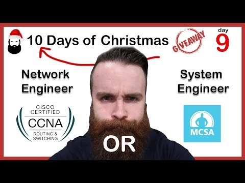 Network Engineer or Systems Engineer? CCNA or MCSA? VCA?
