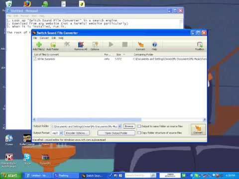 Converting M4A to MP3 (Files)