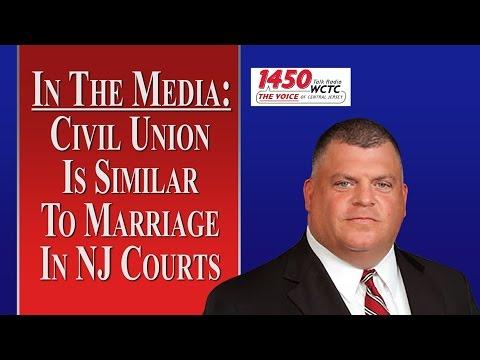 Ending a Civil Union in NJ (WCTC Radio)