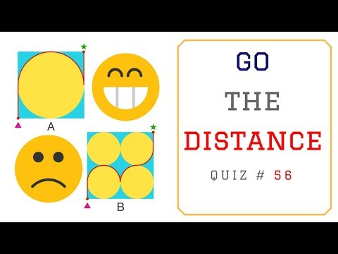 Math Puzzles with Answers in 60 seconds -  Find the Shortest Distance ?
