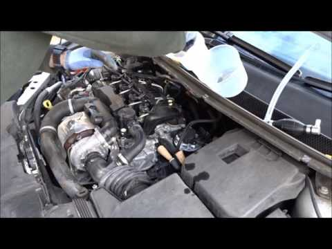 2011 FORD FOCUS 1 6 TDCi FUEL FILTER CHANGE BY A NOVICE