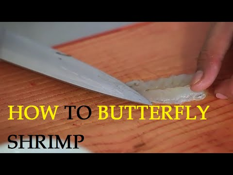 How to Butterfly Shrimp