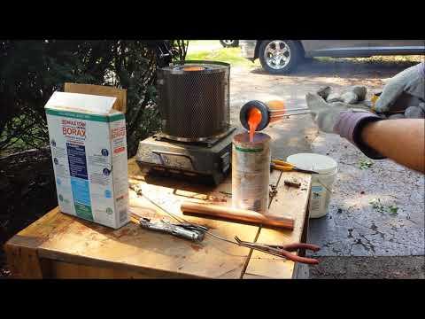 Misadventures in metal casting Brass and Aluminum