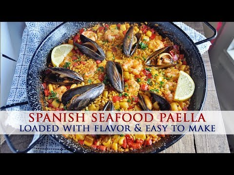 Authentic Spanish Seafood Paella Recipe - Colab With Best Bites Forever