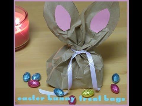 Paper Bag Easter Bunny Craft | DIY Paper Gift Bag Idea | Easter Craft For Kids