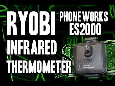 Ryobi Phone Works ES2000 Infrared Thermometer