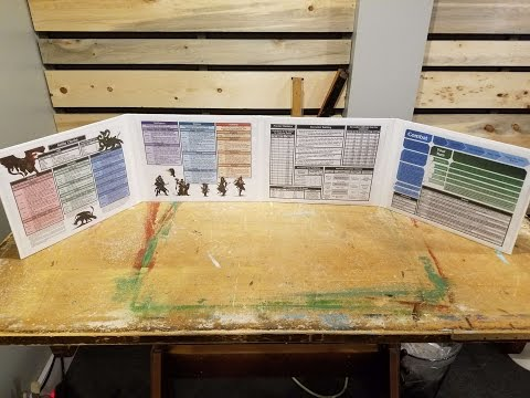 DIY: Make your own DM screen
