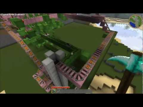 Minecraft Minecart-Station v2 [1.8.1] HD720