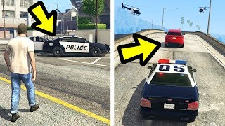 WHAT HAPPENS IF YOU GIVE TREVOR A POLICE CAR? (GTA 5)