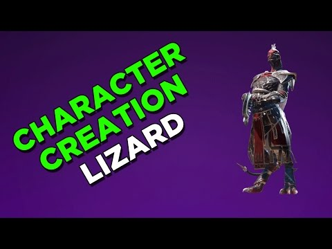 Divinity  Original Sin 2  Lizard Character creation