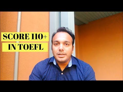 How to Crack TOEFL In One Week | Score 110+ Out of 120 | Study Plan