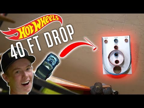 INSANE HOT WHEELS vs TINY Hole! *IMPOSSIBLE CHALLENGE*
