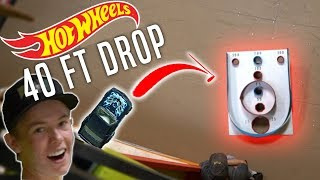 INSANE HOT WHEELS vs TINY Hole! *IMPOSSIBLE CHALLENGE*