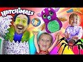 SPIDER HATCHIMALS EGG HATCHING! FUNnel V Surprise Inside the Toy Opening