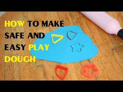 How to Make Safe and Easy Play Dough