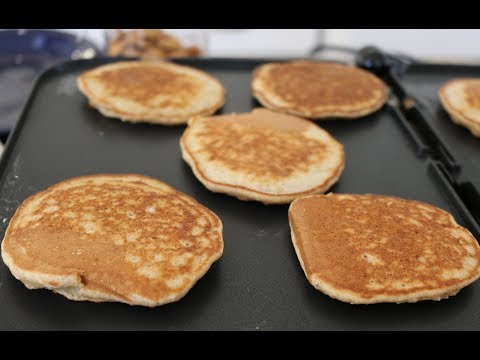 Healthy Coconut Banana Almond Oatmeal Pancake
