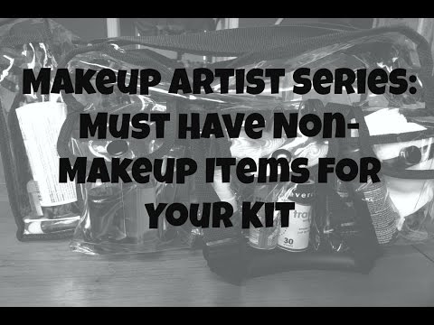 Makeup Artist Series | Non Makeup Must Haves For Your Kit | Mandy Davis MUA