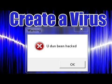 Create a Funny Virus
