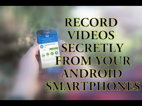 Record Video Secretly From Your Android Devices | Make Your Android Phone a Spy | [Hindi/English]