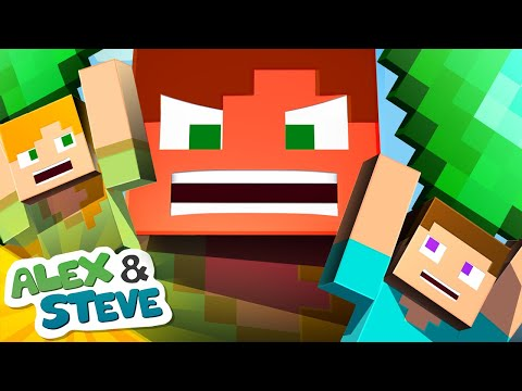 💰 TOYS ESCAPE FROM MINECRAFT!! | The Minecraft Life of Alex & Steve | Minecraft Animation