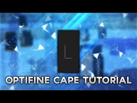 How to make the L Optifine Cape Design (Minecraft Tutorial)