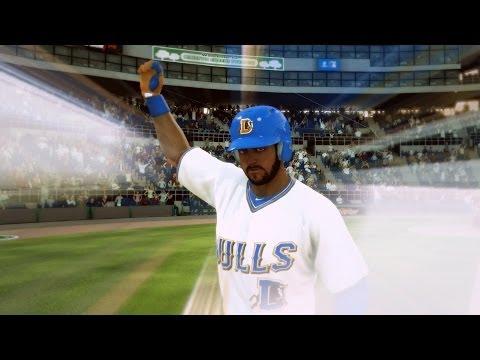 MLB 14 The Show Road to the Show PS4 - GRAND SLAM Home Run Hitting Bridges!