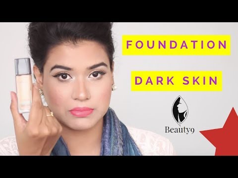 Which Colour Foundation Suits Dark Skin (Hindi) | Foundation for Dark Skin