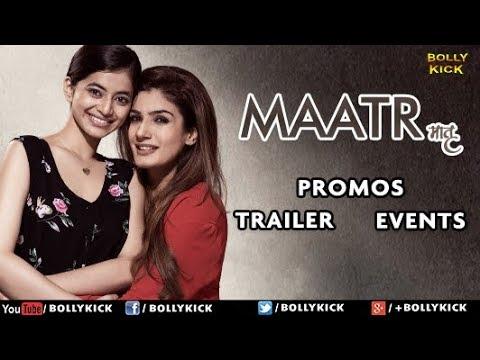 Maatr   Making   Promo   Event   Raveena Tandon
