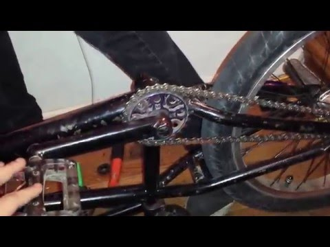 how to grease a bmx bottom bracket