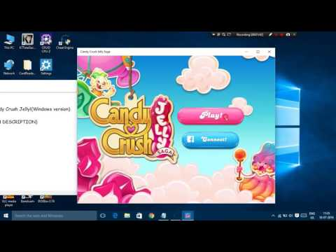Hack Candy Crush Jelly Saga on Windows 8,8.1 and 10