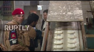 Syria: Russian military helps restore bakery in eastern Aleppo