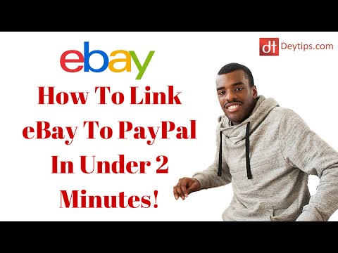 How to Link eBay To PayPal In Under 2 Minutes