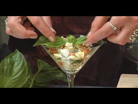Veggie Orzotini at Back to Earth Catering