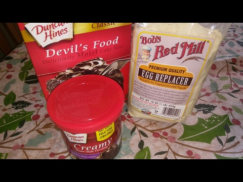 Bob's Red Mill Egg Replacer/Duncan Hines Cake