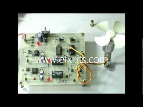 Four Quadrant DC Motor Control Without Microcontroller | EEE Projects
