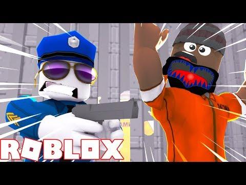HE STOLE MY MUSTACHE!! LET'S ARREST HIM (Roblox Jailbreak)