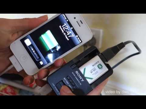 Sony BC-TRX battery charger [FULL REVIEW] 1080p HD